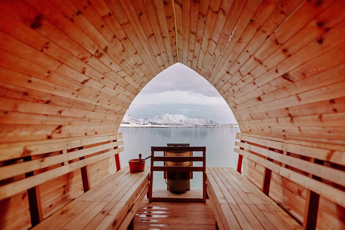 Lofoten Basecamp Sauna