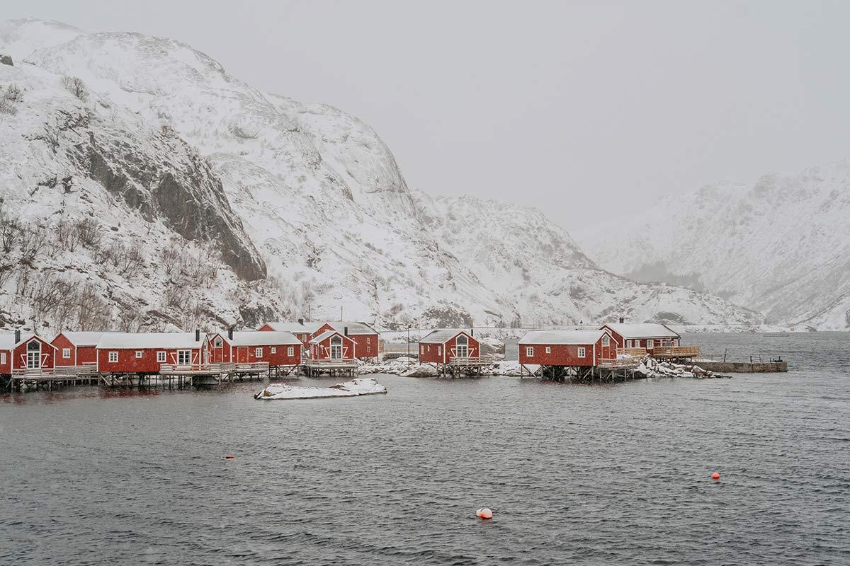 Norwegen Nusfjord