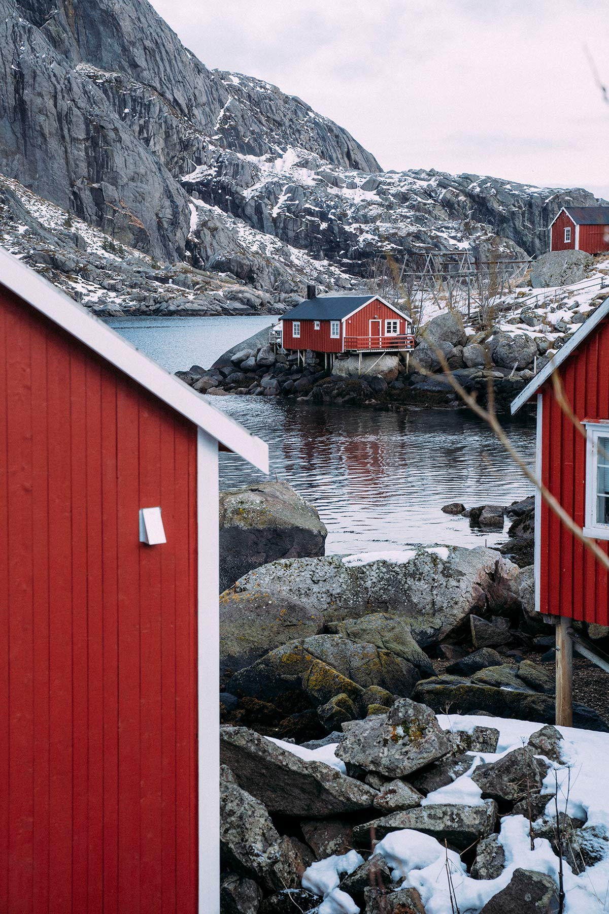 Nusfjord rote Huetten
