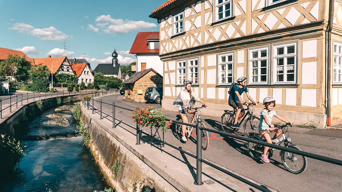 Familienradtour Bad Staffelstein