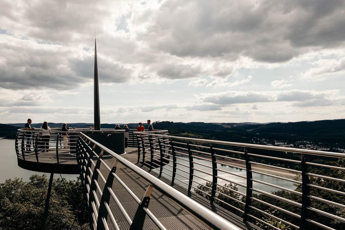 Aussichtsplattform Biggeblick im Sauerland