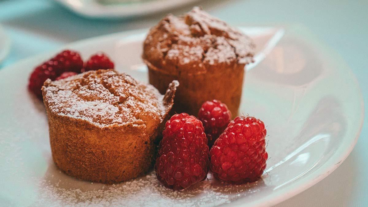 Drumlerhof Fruehstueck Muffins