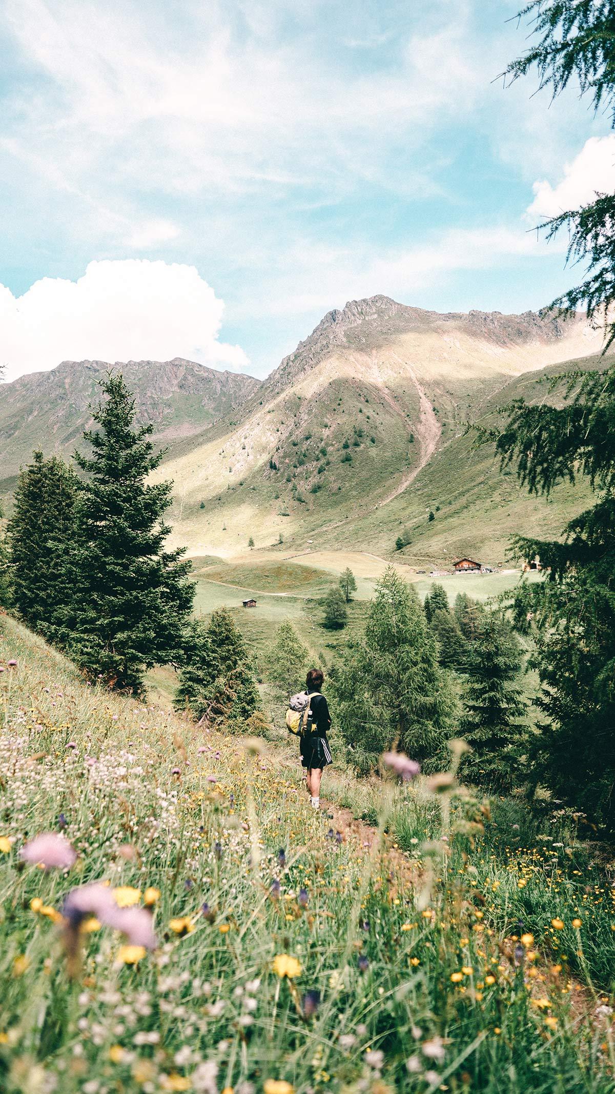 St. Magdalena Wanderung Panorama