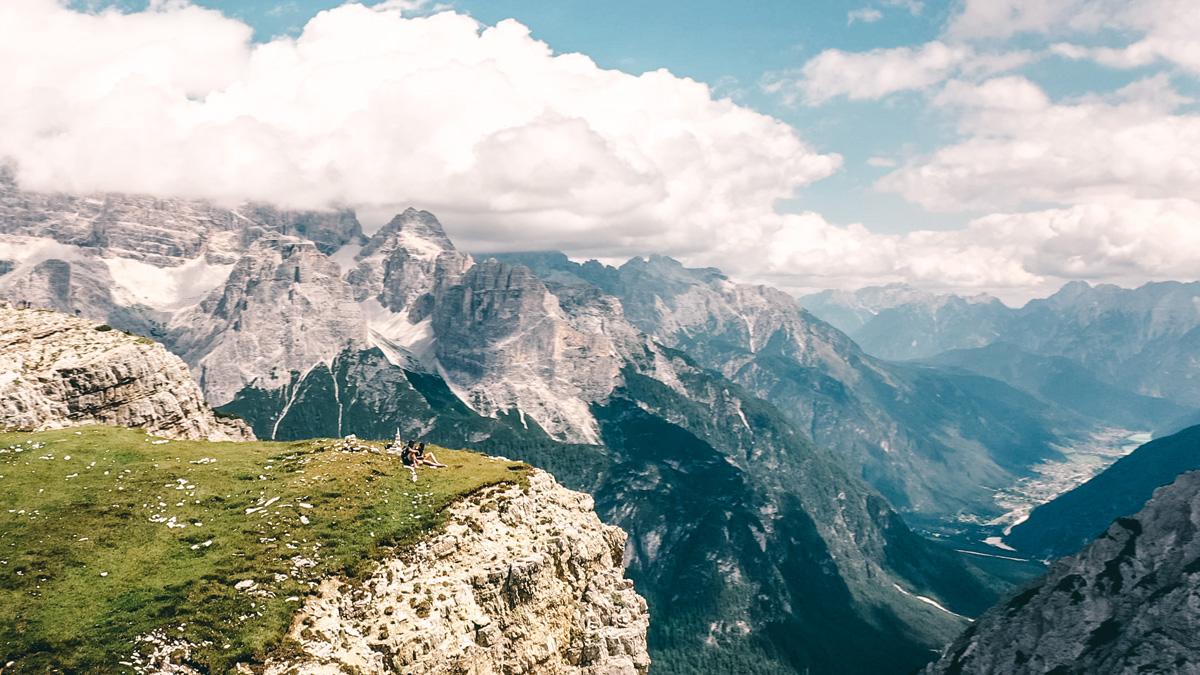 3 Zinnen Wanderung Panorama