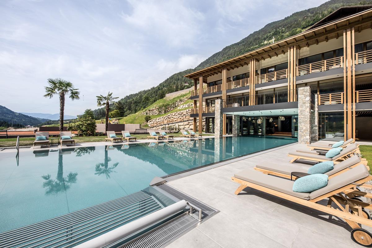 Andreus Resorts in Südtirol Pool