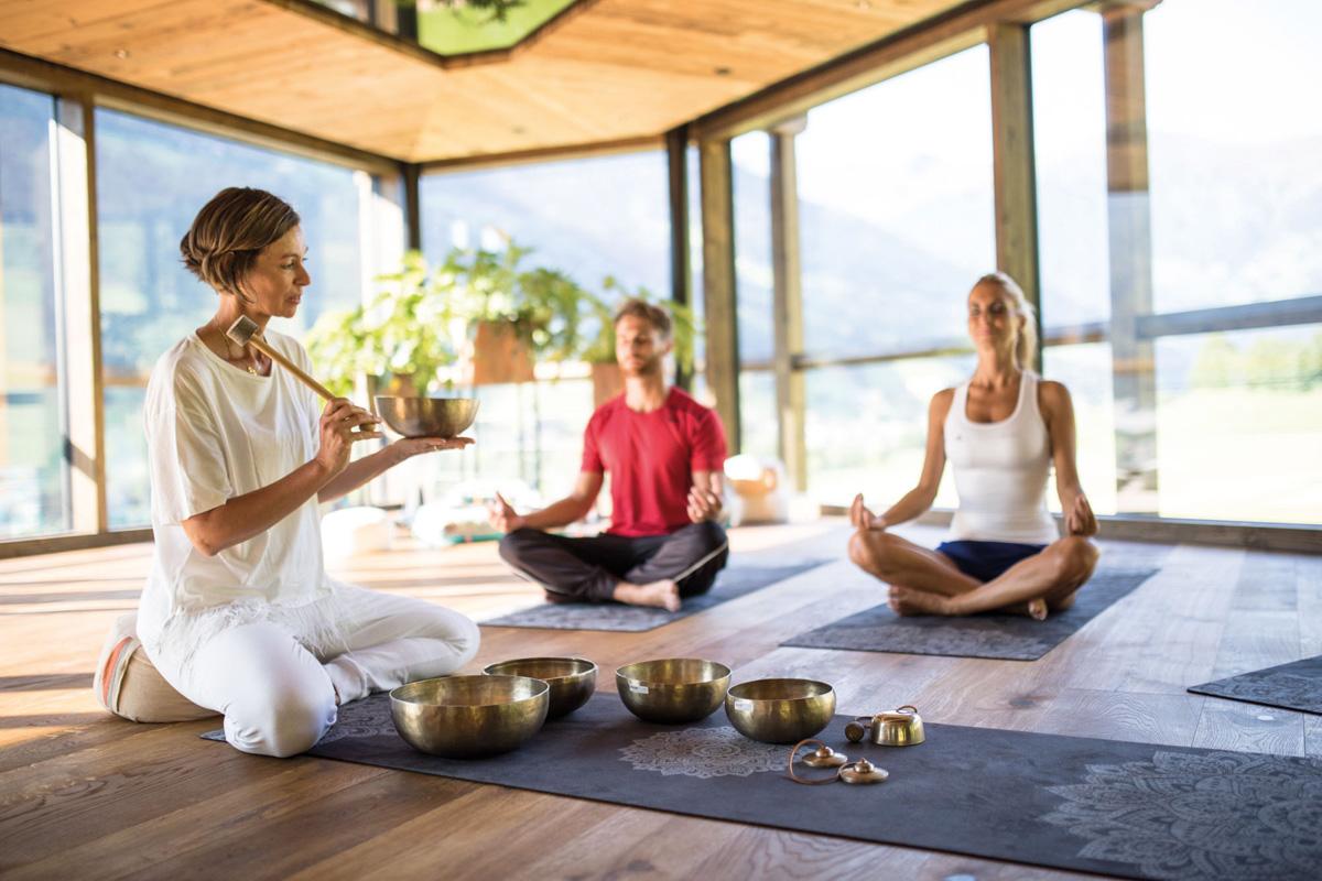 Andreus Resorts in Südtirol Yoga
