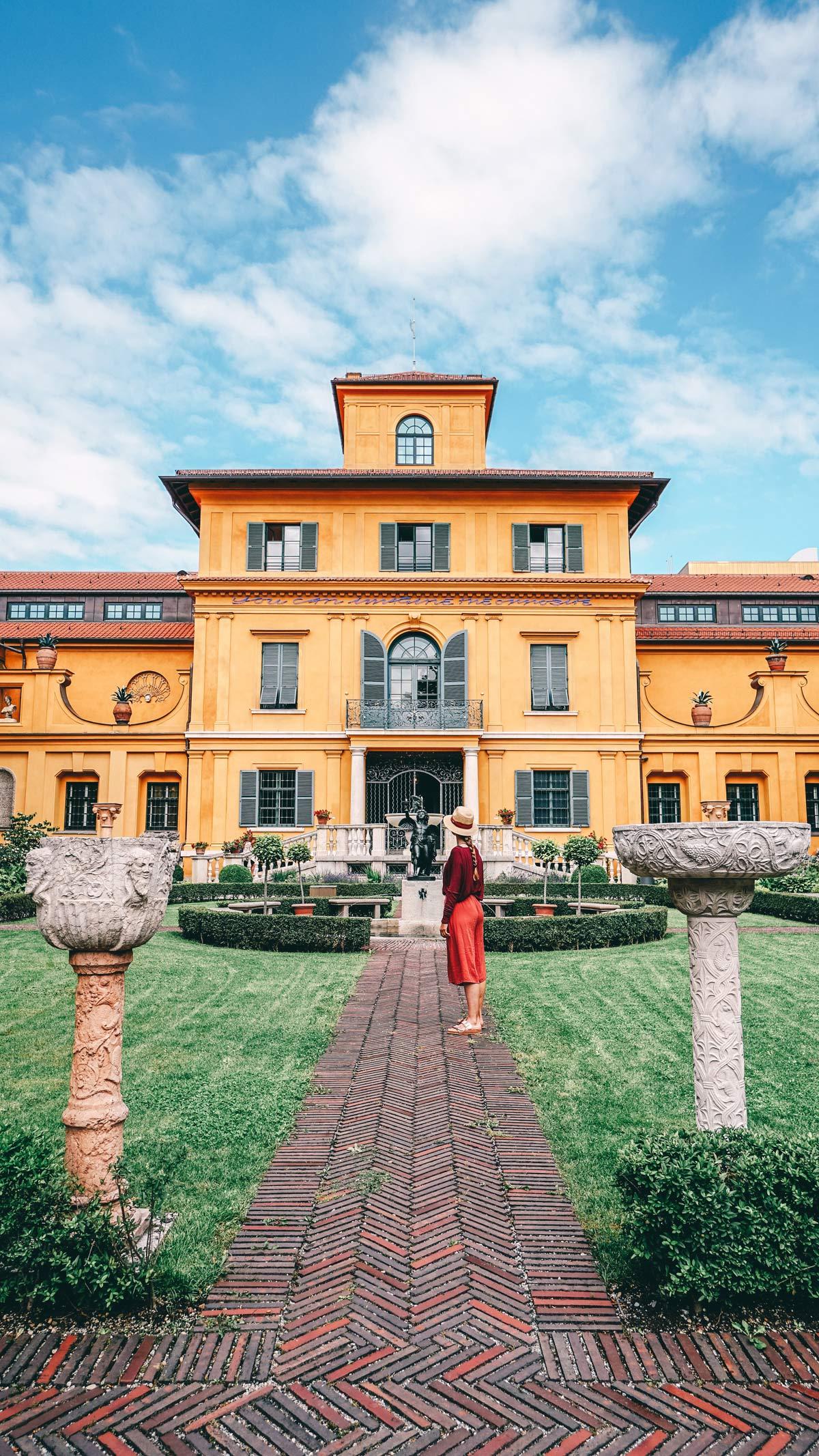 schöne orte in bayern lenbachhaus muenchen