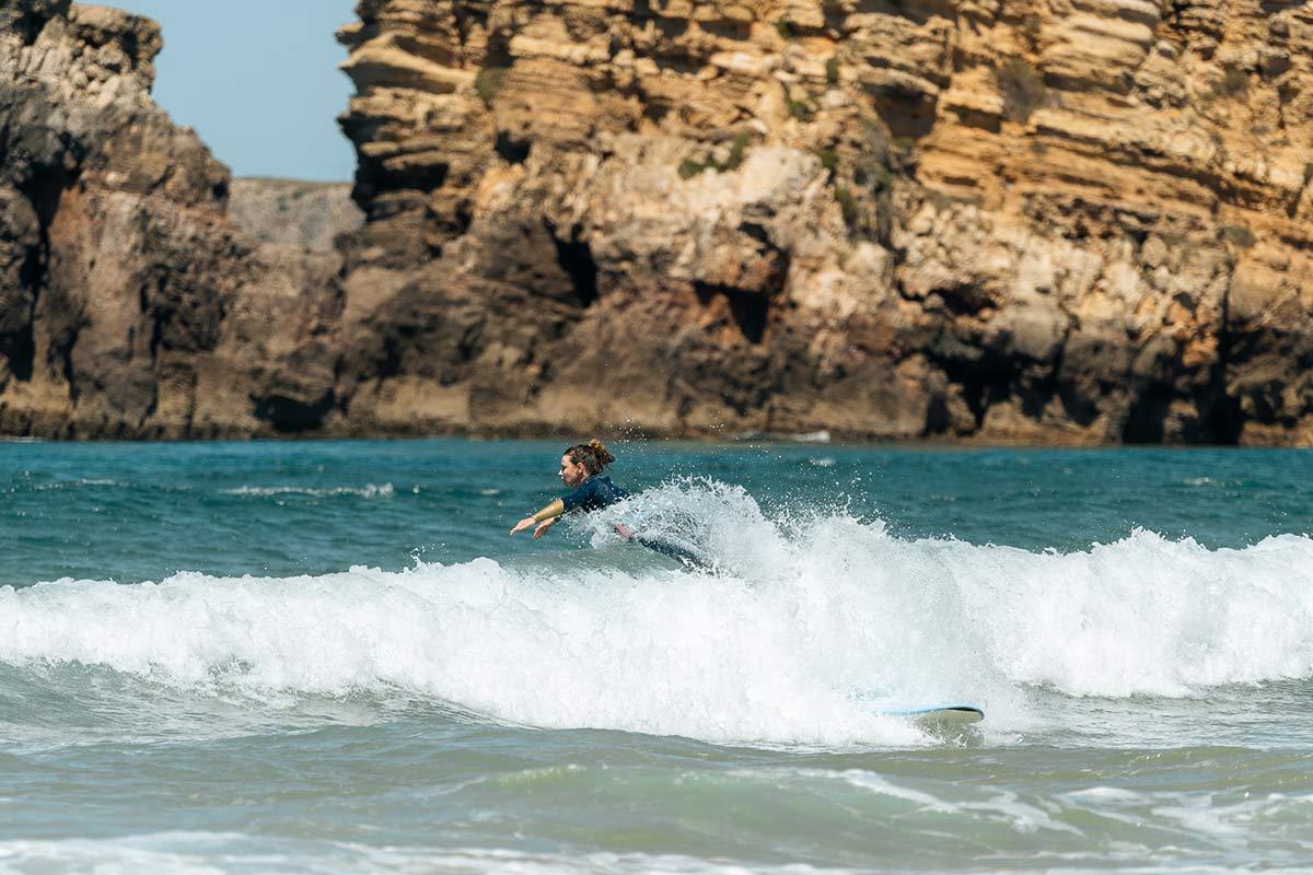 Christine surft