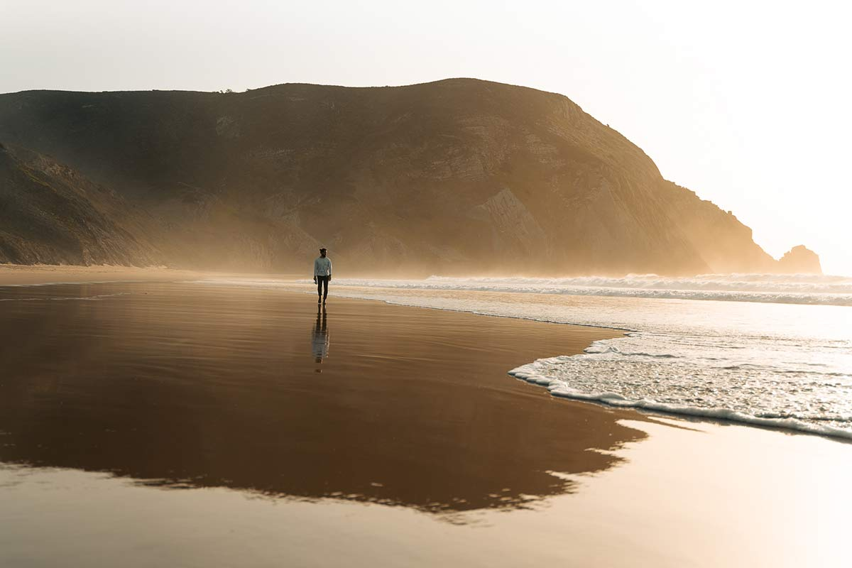 Praia Barranco Surfen Portugal