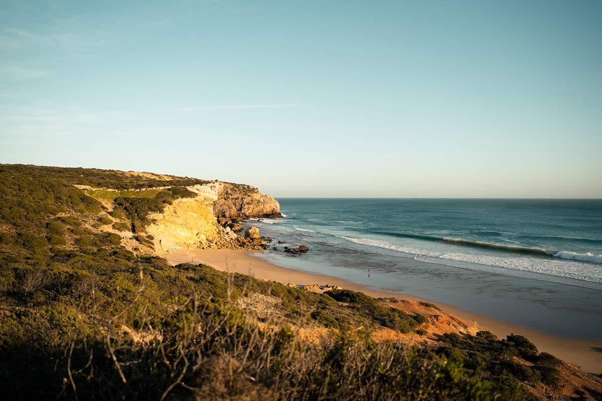 Praia do Zavial Landschaft