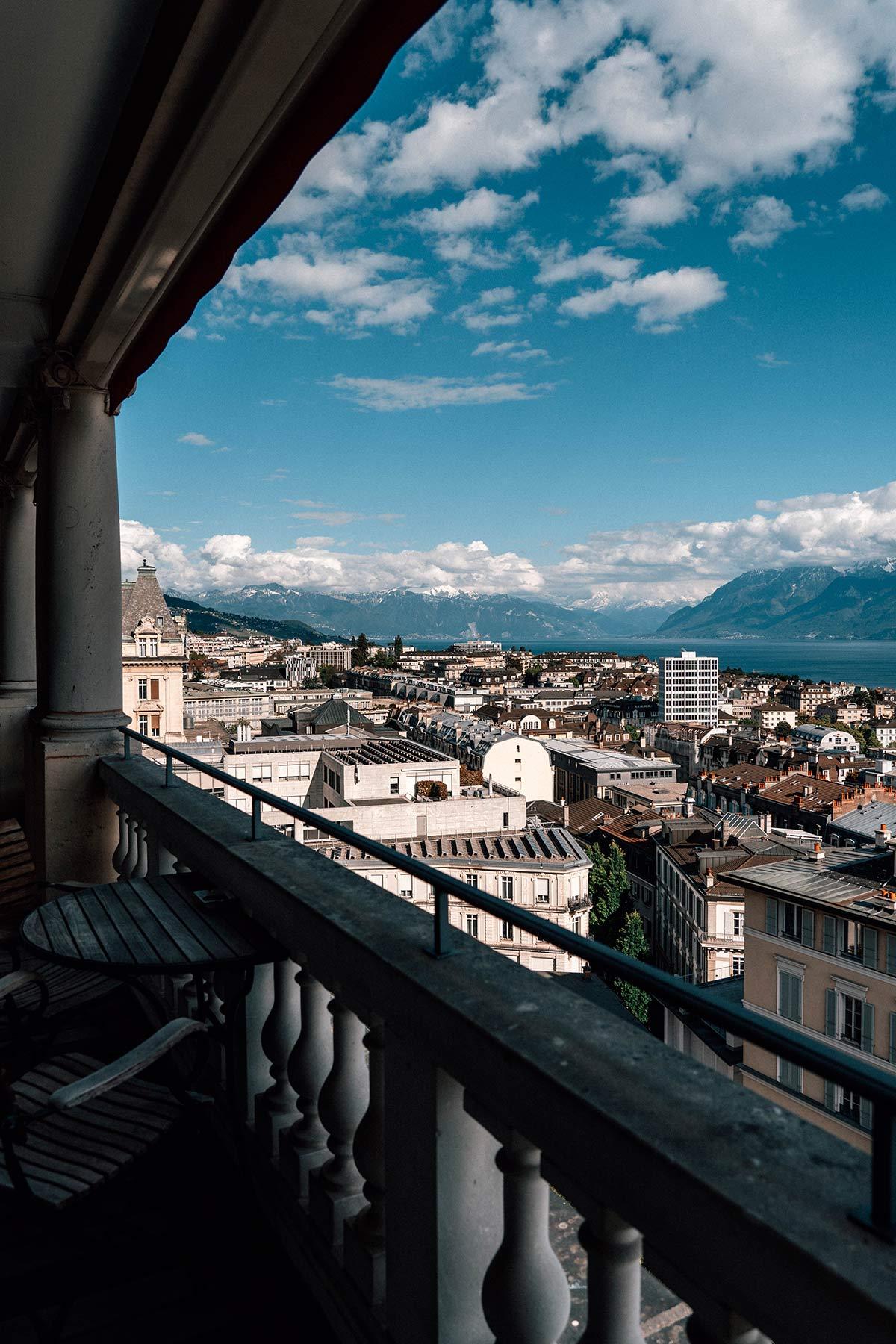 Ausblick Balkon Coco Chanel