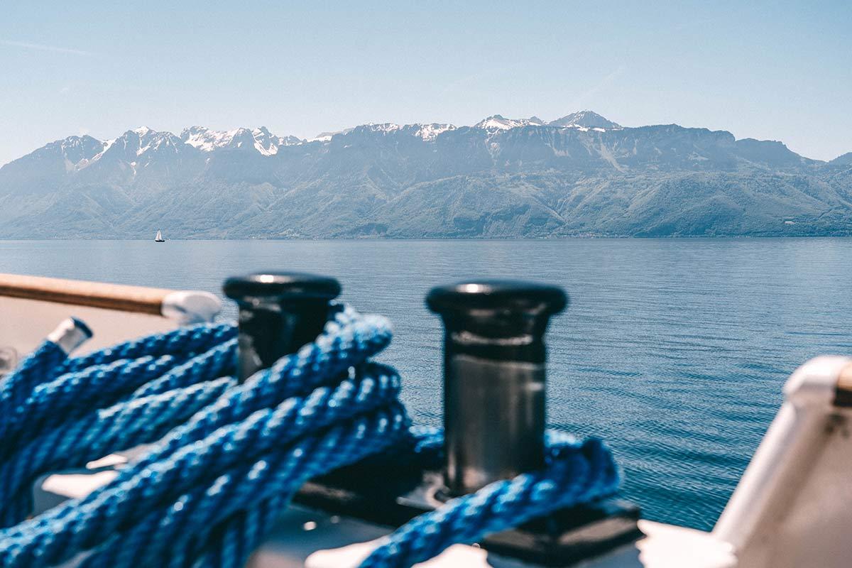 Bootsausflug auf dem Genfersee