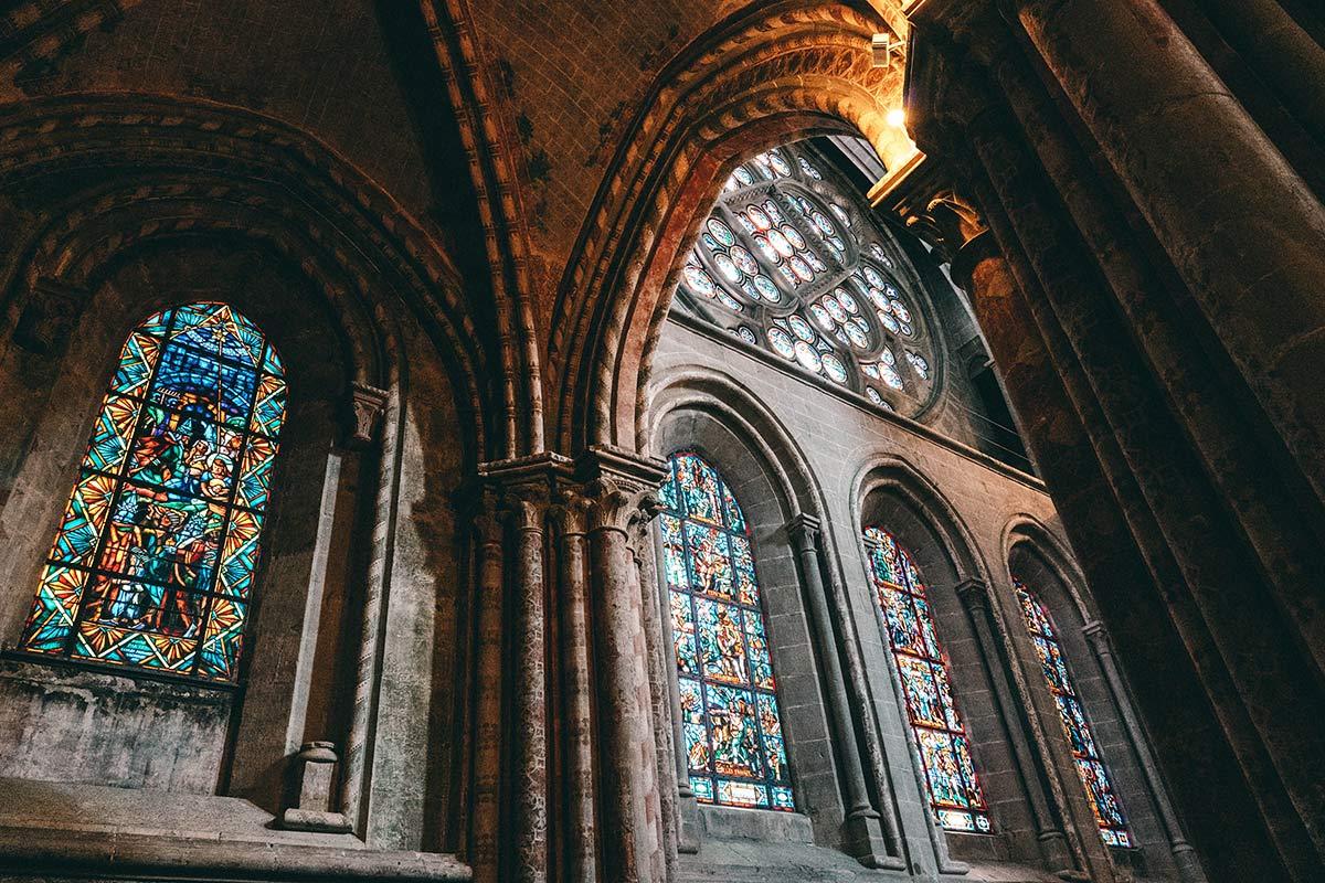 Glasmalereien Kathedrale Lausanne