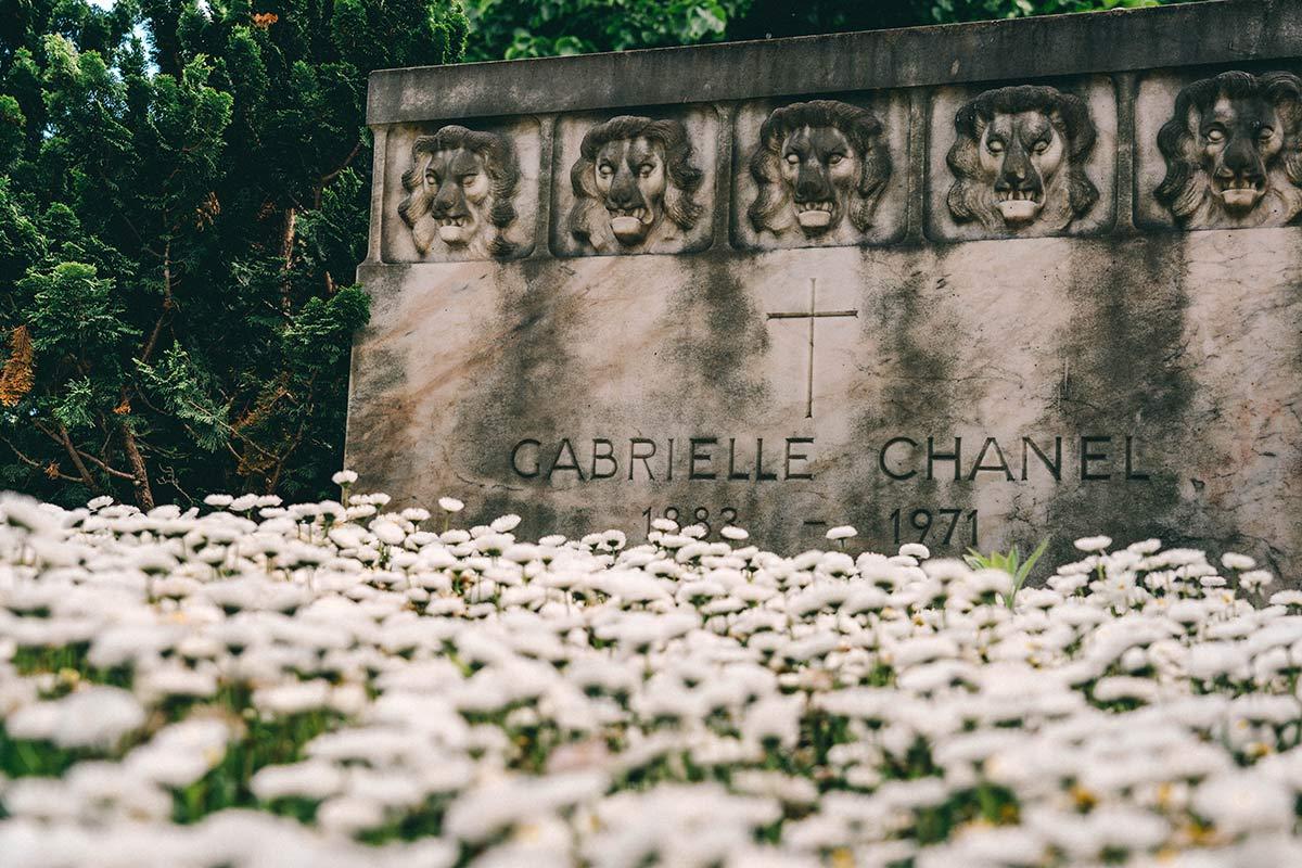 Grabstein Coco Chanel Lausanne
