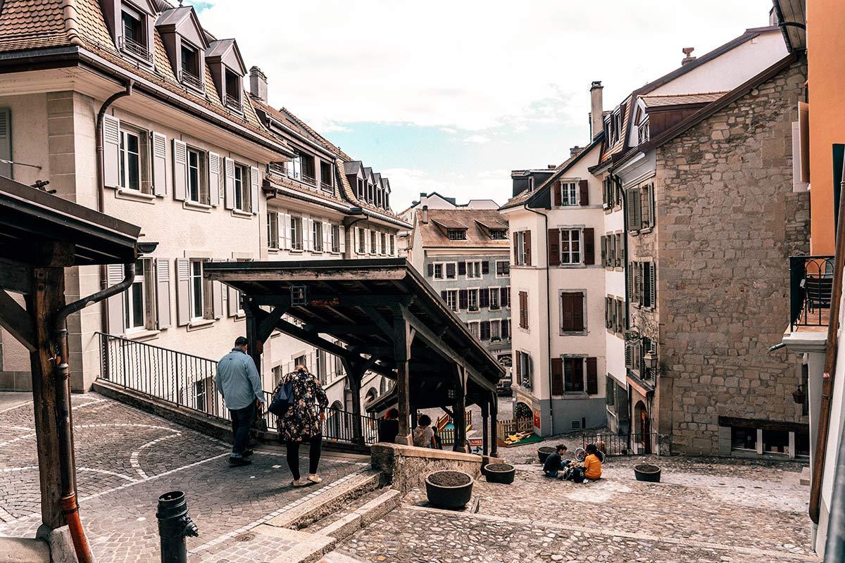 Markttreppe Lausanne