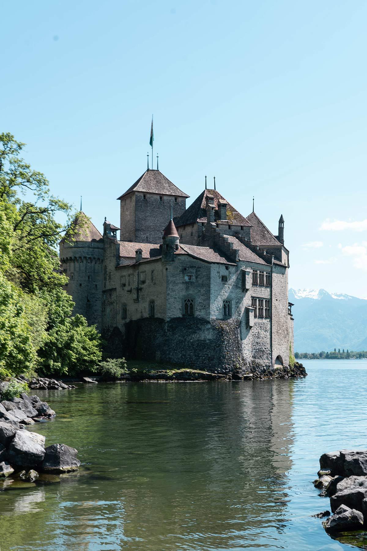 Schloss Chillon in Montreux in der Schweiz 2
