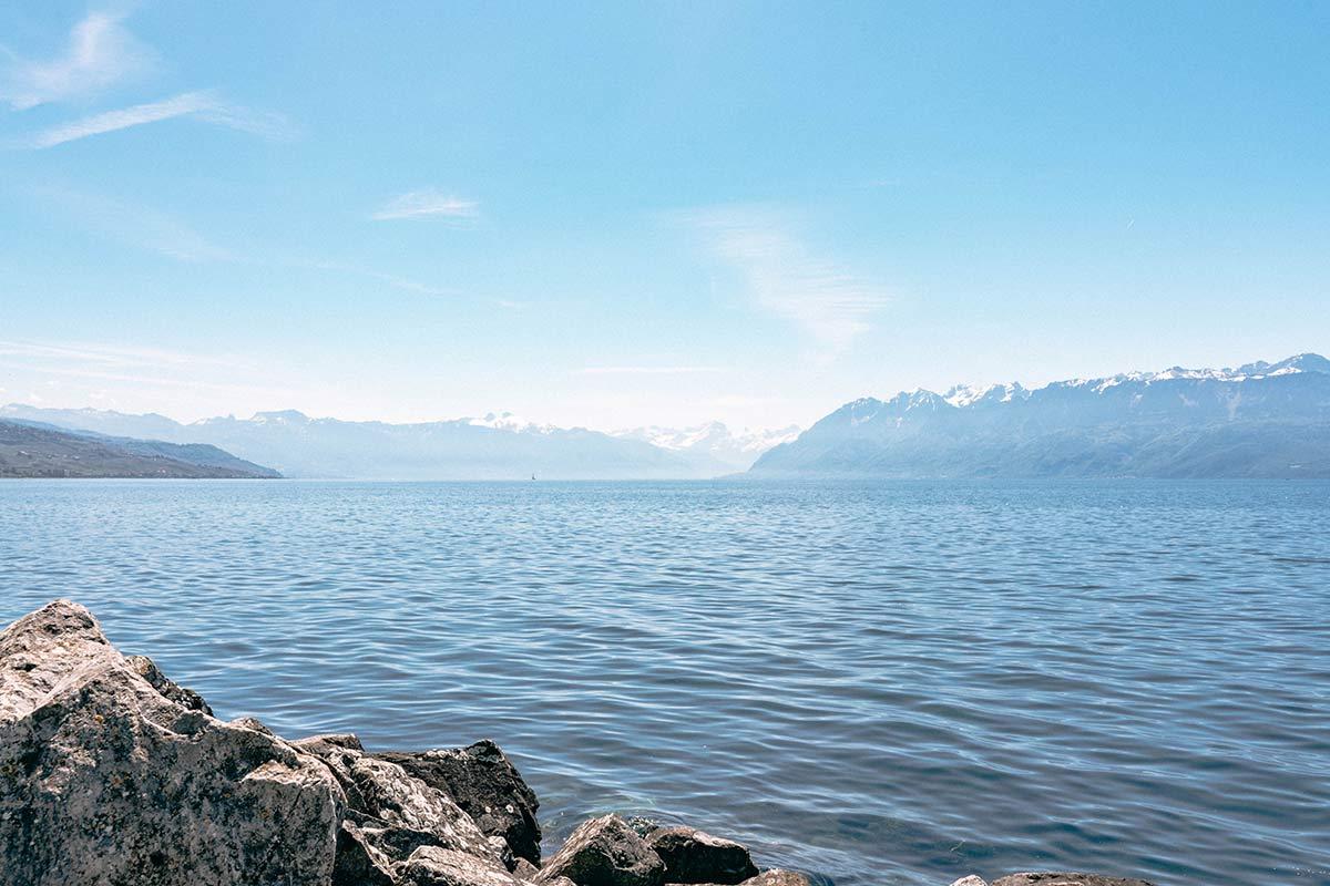 Urlaub am Genfersee