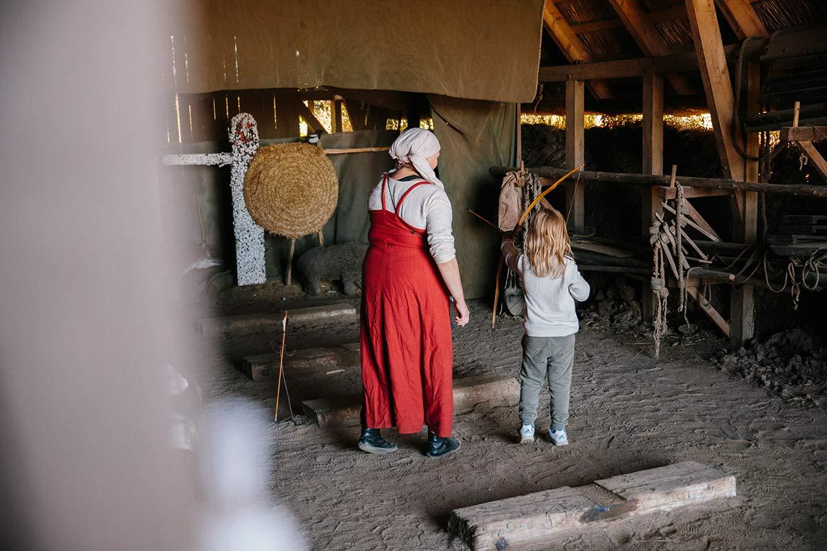bogenschiessen Bork Havn Wikingermuseum
