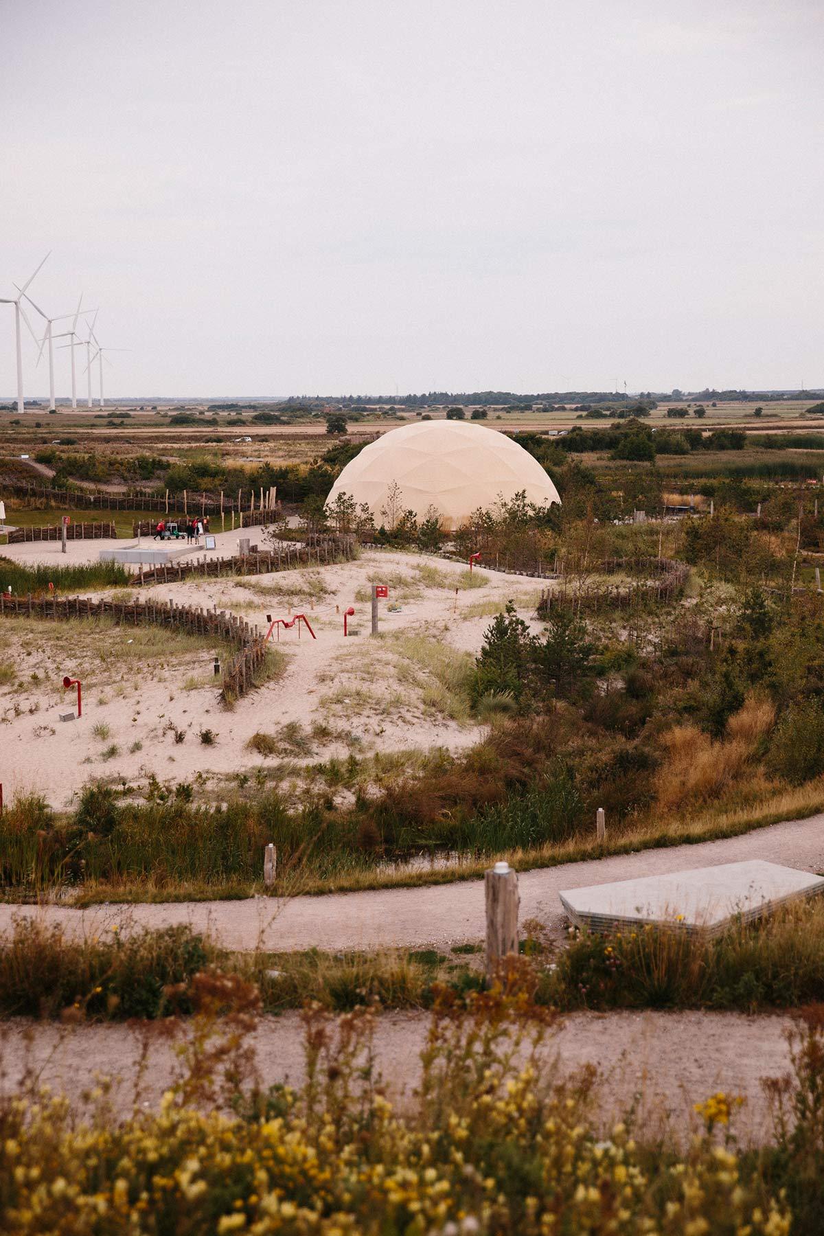 gelaende naturkraft Dänische Nordseeküste
