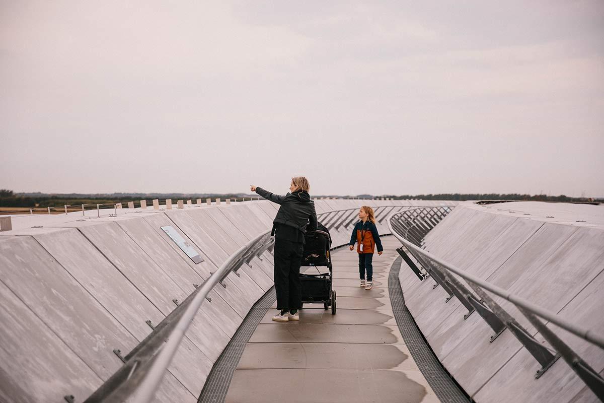 naturlehrpfad naturkraft Dänische Nordseeküste