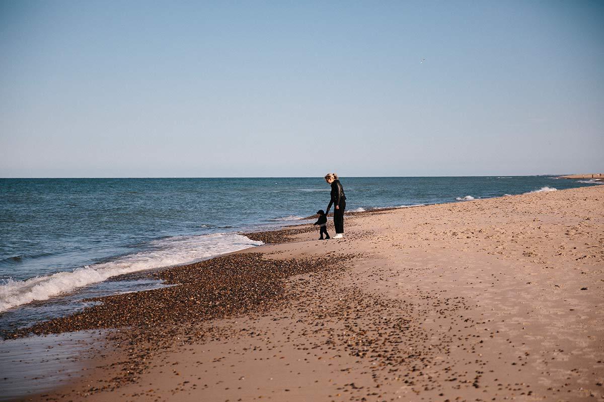 strand sondervig Dänische Nordseeküste