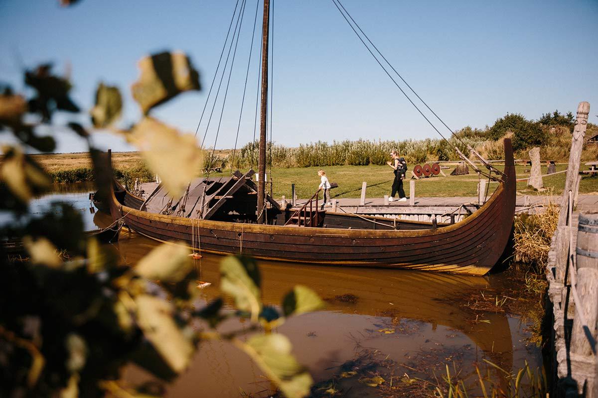 wikingerschiff Dänische Nordseeküste
